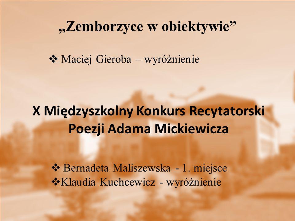 """""""Zemborzyce w obiektywie  Bernadeta Maliszewska - 1."""