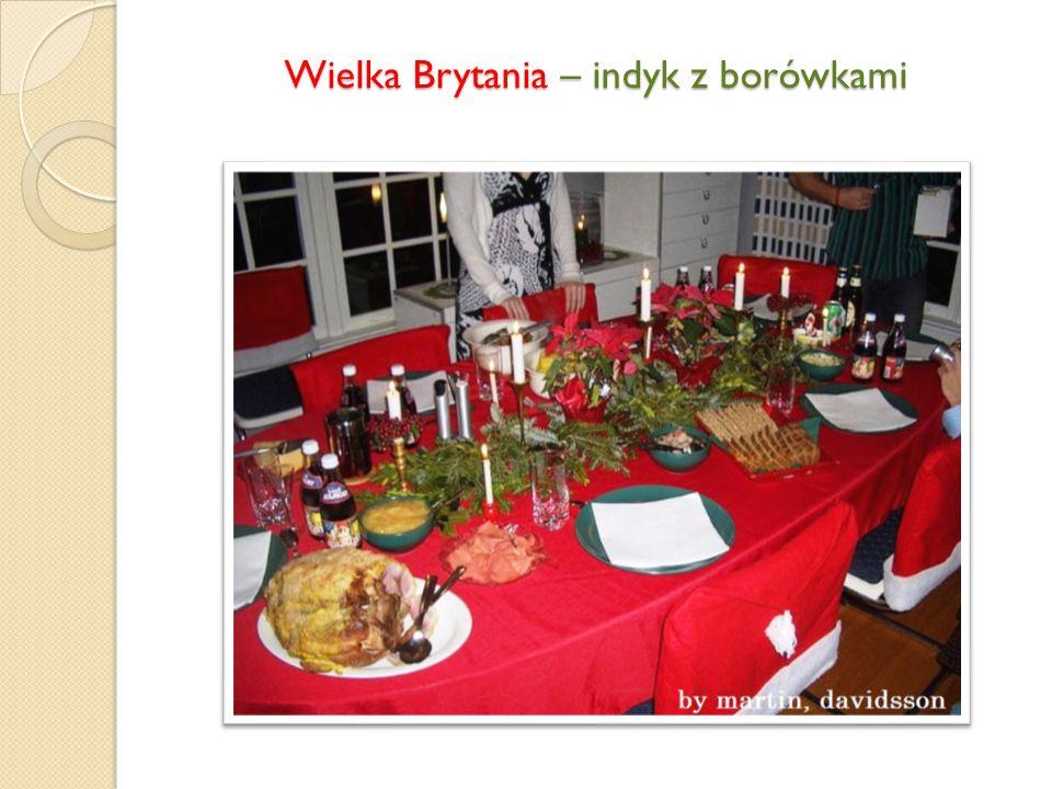 Belgia - homary, małże, pstrąg, dziczyzna w sosie śliwkowym, sorbet, indyk, baba z kremem mokka.