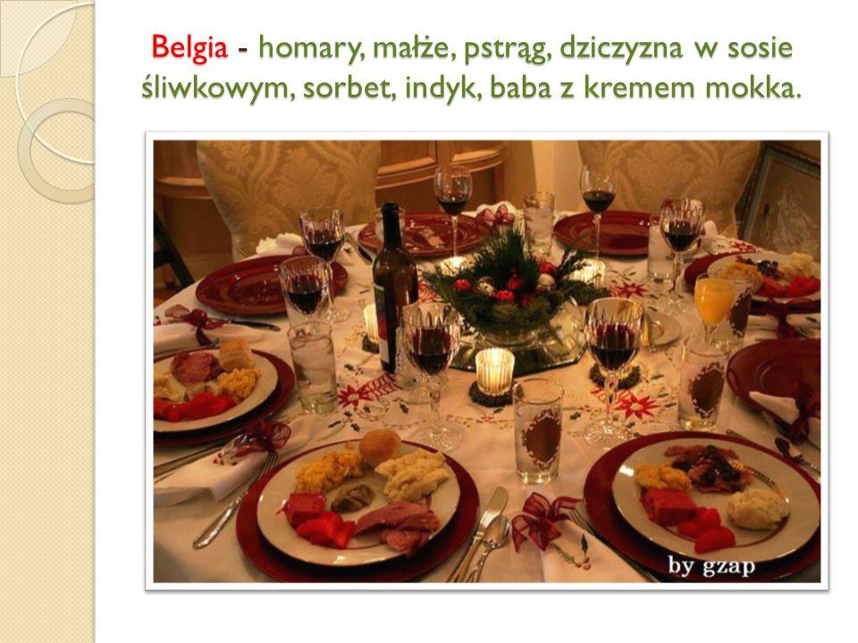 Portugalia – wieprzowina, frutti di mare (czyli owoce morza), dorsz.