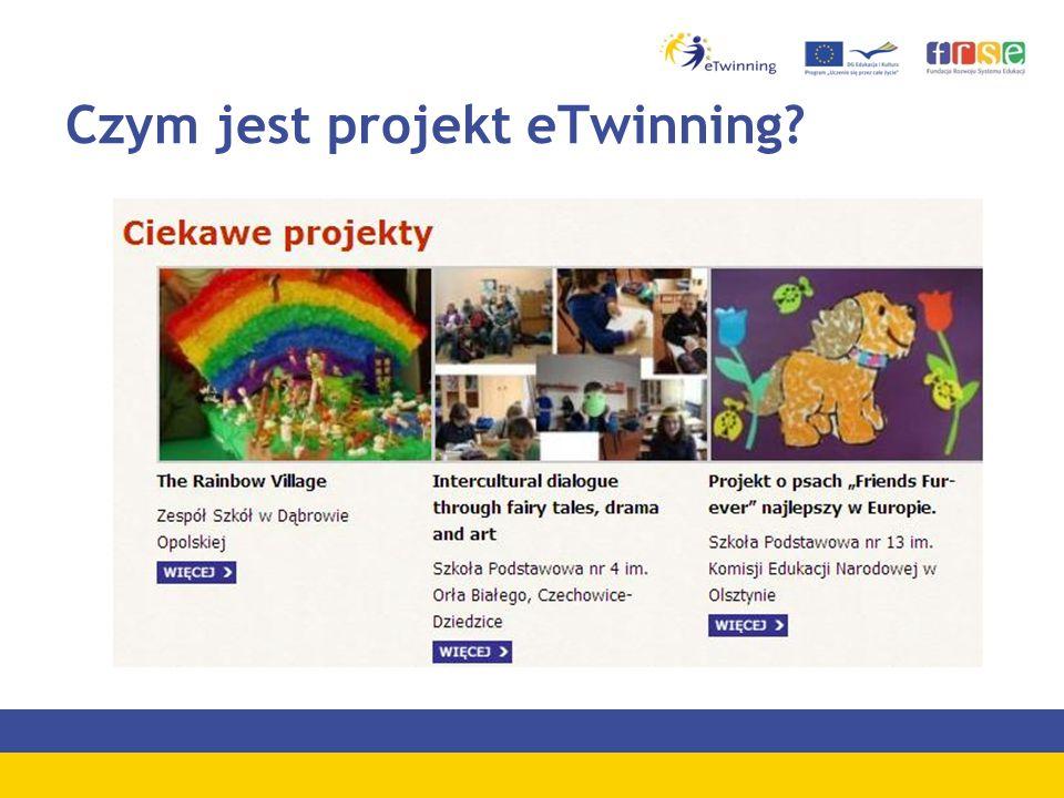 Czym jest projekt eTwinning?