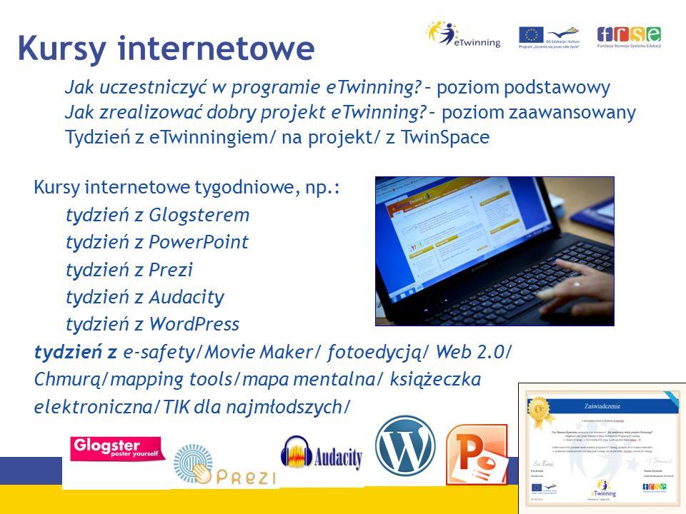 Kursy internetowe Jak uczestniczyć w programie eTwinning.