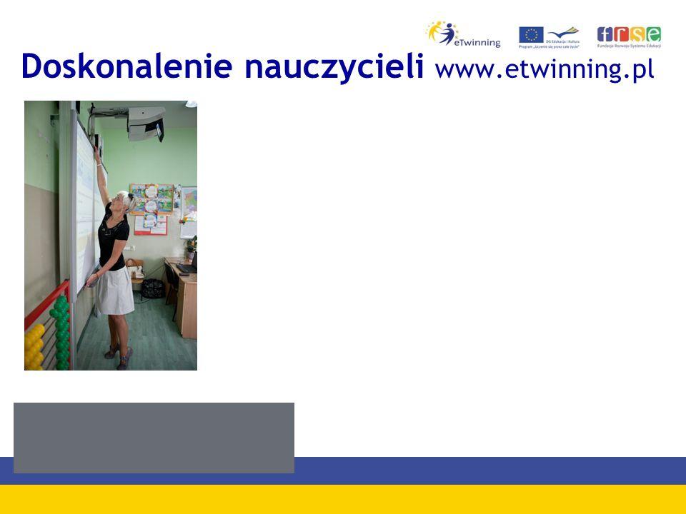 Doskonalenie nauczycieli www.etwinning.pl