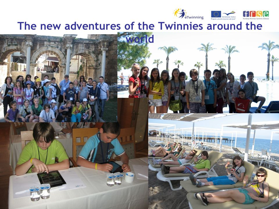 The new adventures of the Twinnies around the world