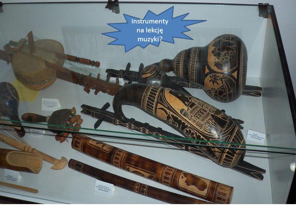 Instrumenty na lekcję muzyki