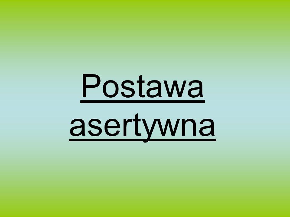 Postawa asertywna