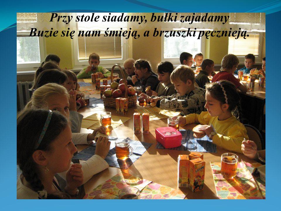 Śniadanie, śniadanie To wspólne jadanie jest tradycją szkoły dzieci dożywianie