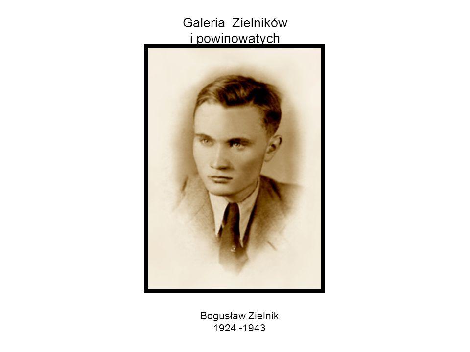 Galeria Zielników i powinowatych Feliks Zielnik 1899 - 1940