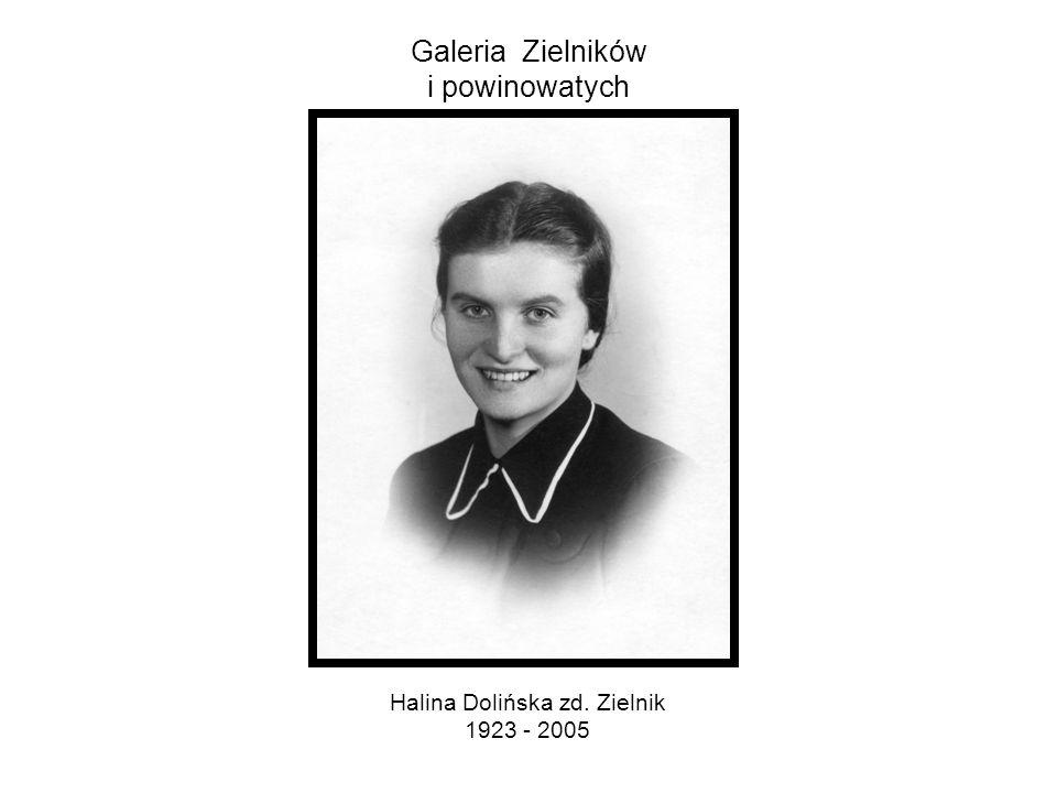 Galeria Zielników i powinowatych Jadwiga Zielnik