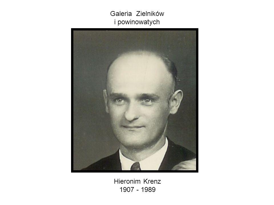 Galeria Zielników i powinowatych Hieronim Krenz 1907 - 1989