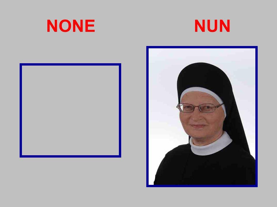 NONE NUN