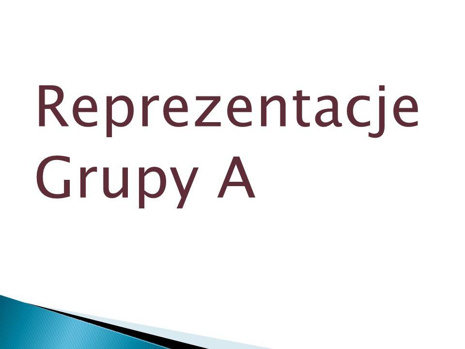 Reprezentacje Grupy A