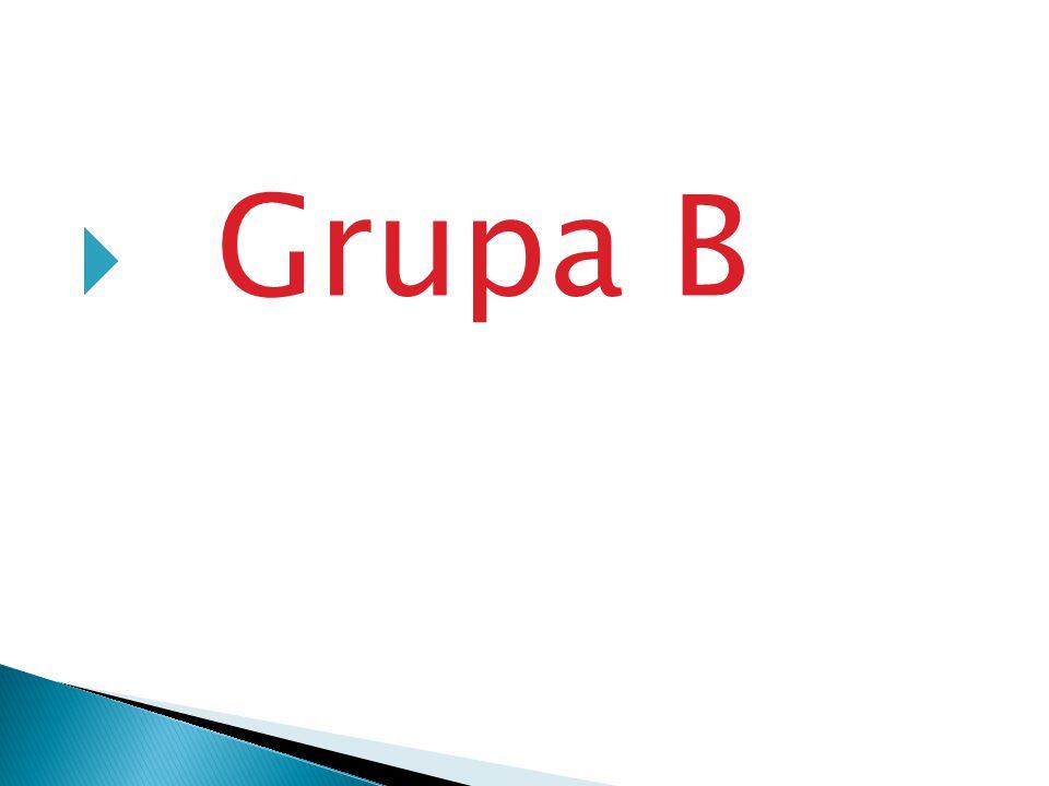 Reprezentacje Grupy B
