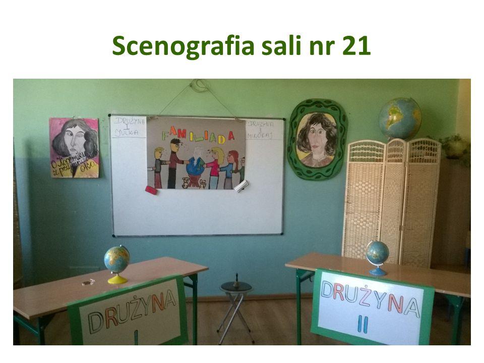 Scenografia sali nr 21