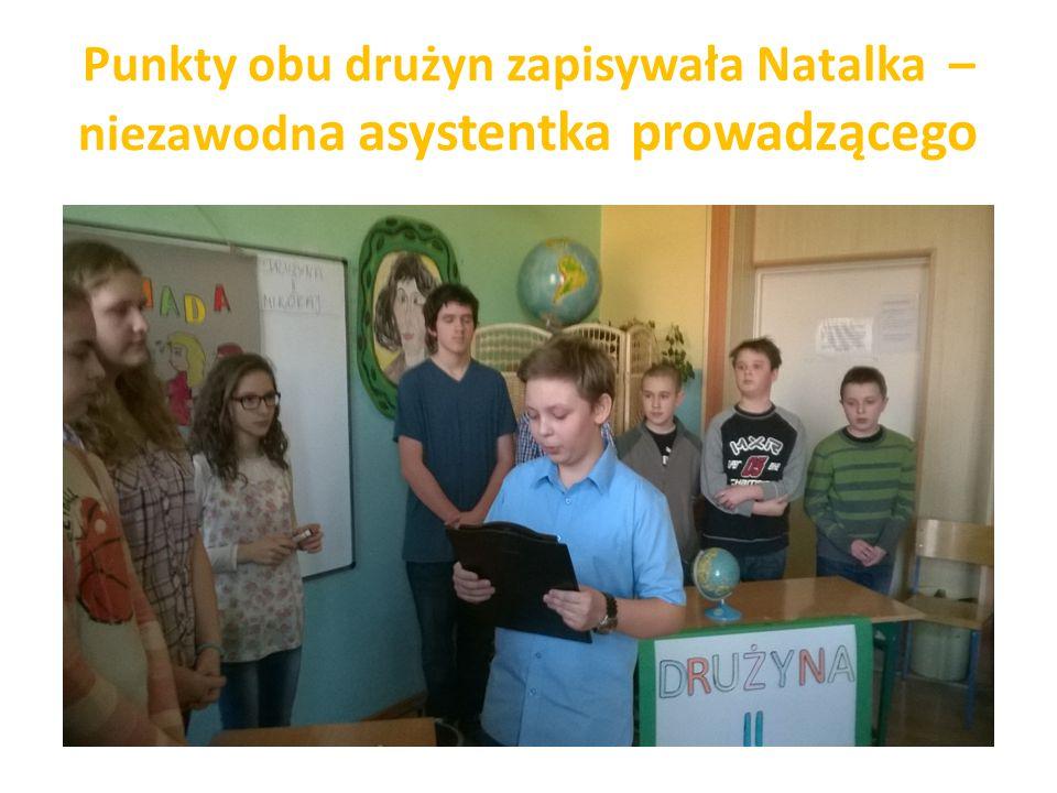 Drużyna Mikołaja – męska część klasy: Michał, Dominik, Miłosz i Dawid