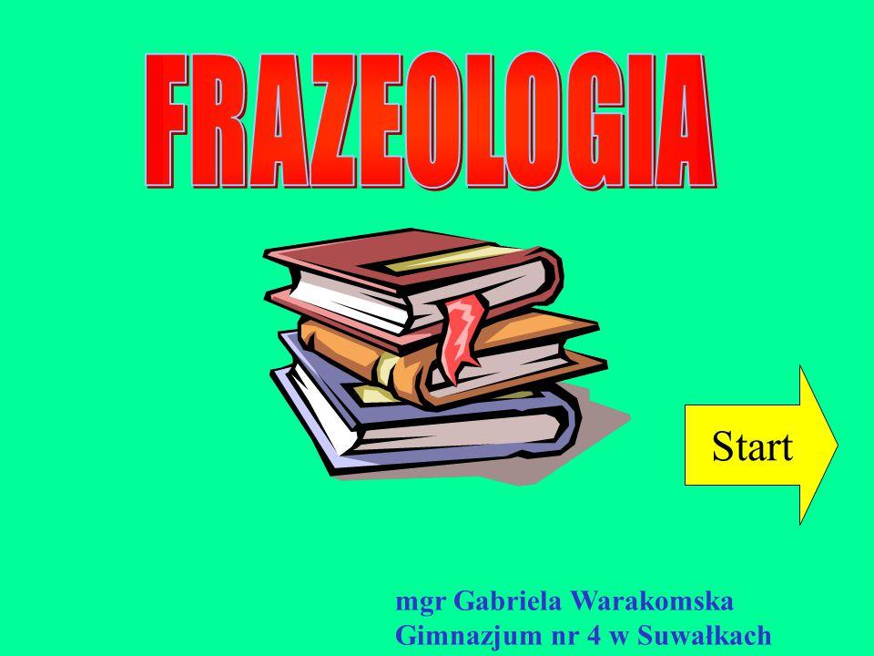 Start mgr Gabriela Warakomska Gimnazjum nr 4 w Suwałkach