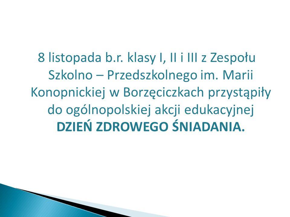 8 listopada b.r. klasy I, II i III z Zespołu Szkolno – Przedszkolnego im.