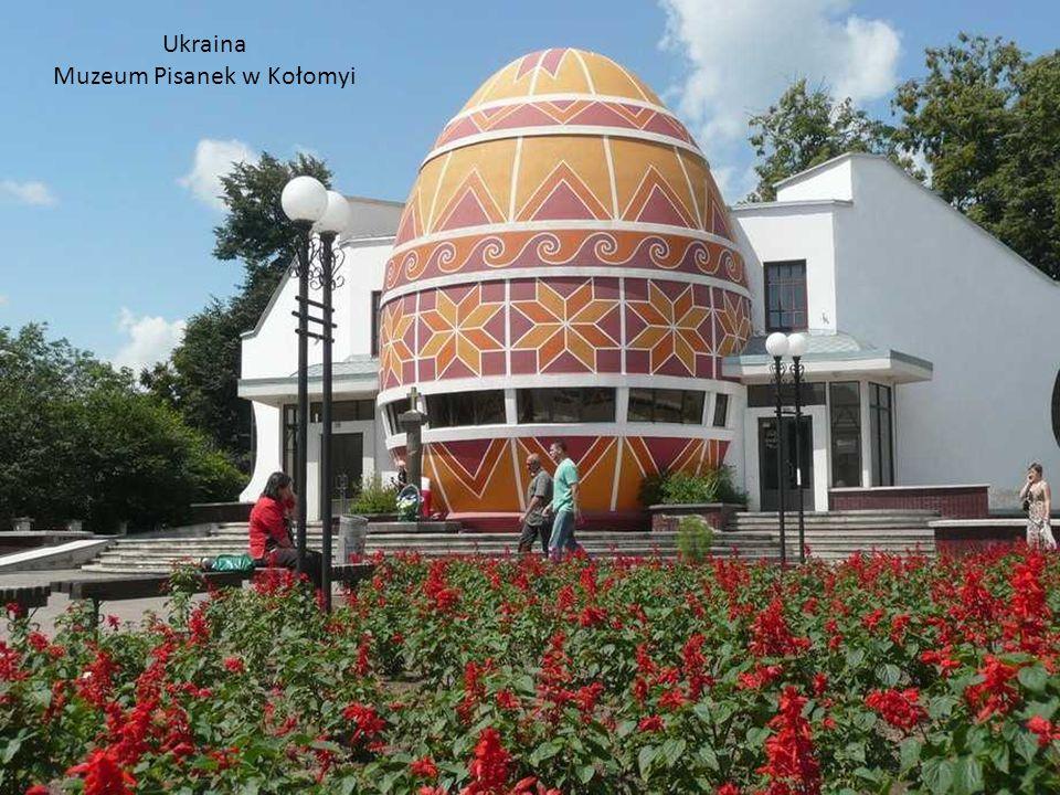 Ukraina Muzeum Pisanek w Kołomyi