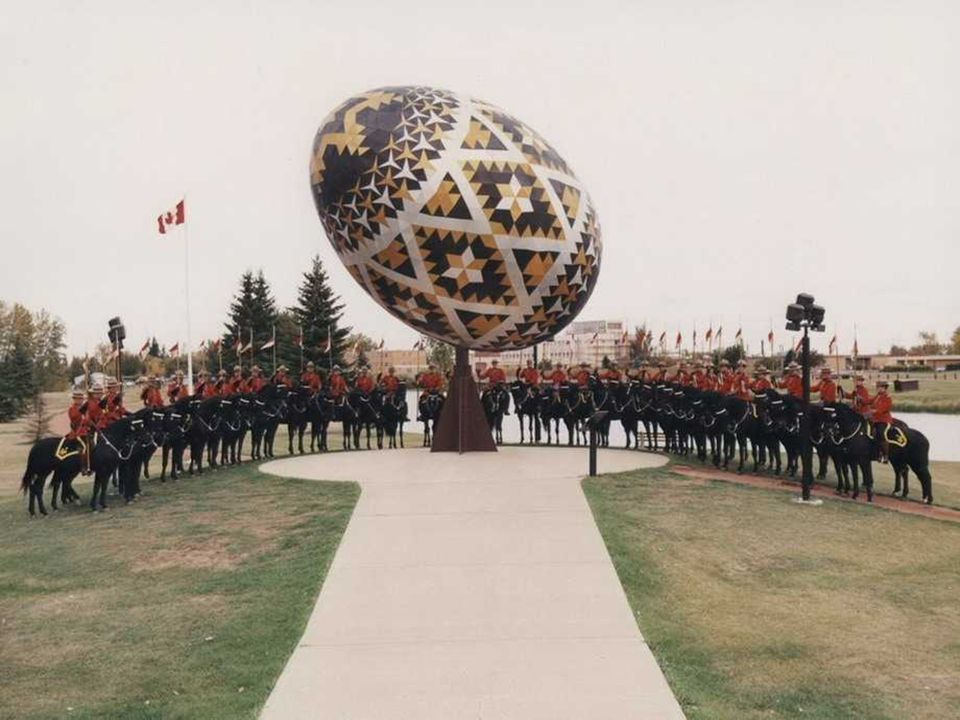 Kanada Vegreville, stan Alberta.