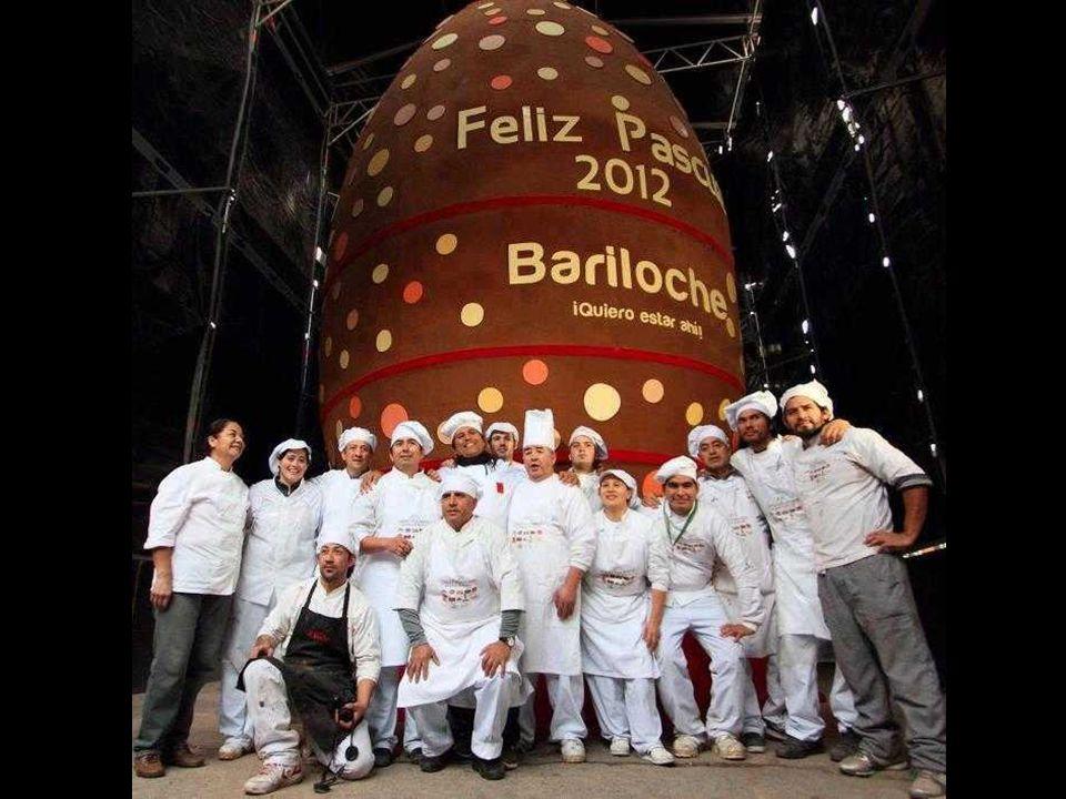 Argentyna, Bariloche Największe na świecie jajo czekoladowe..