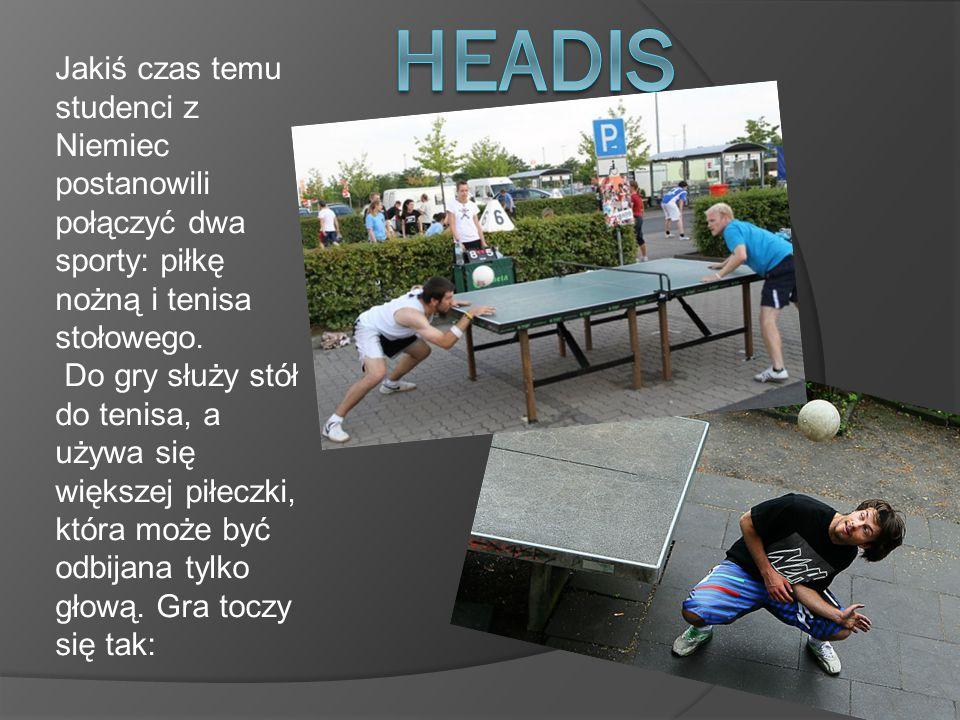 Jakiś czas temu studenci z Niemiec postanowili połączyć dwa sporty: piłkę nożną i tenisa stołowego.