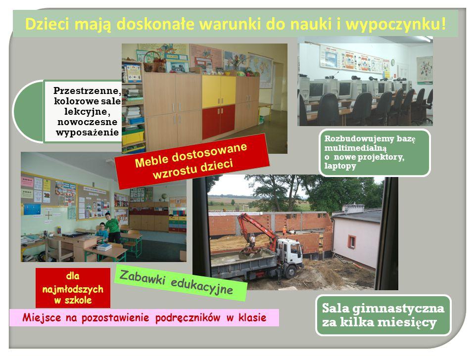Szko ł a osadzona w tradycji lokalnej Tutaj tradycja łączy się ze współczesnością.