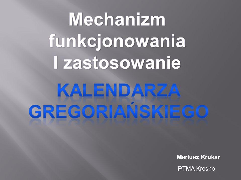Mariusz Krukar PTMA Krosno
