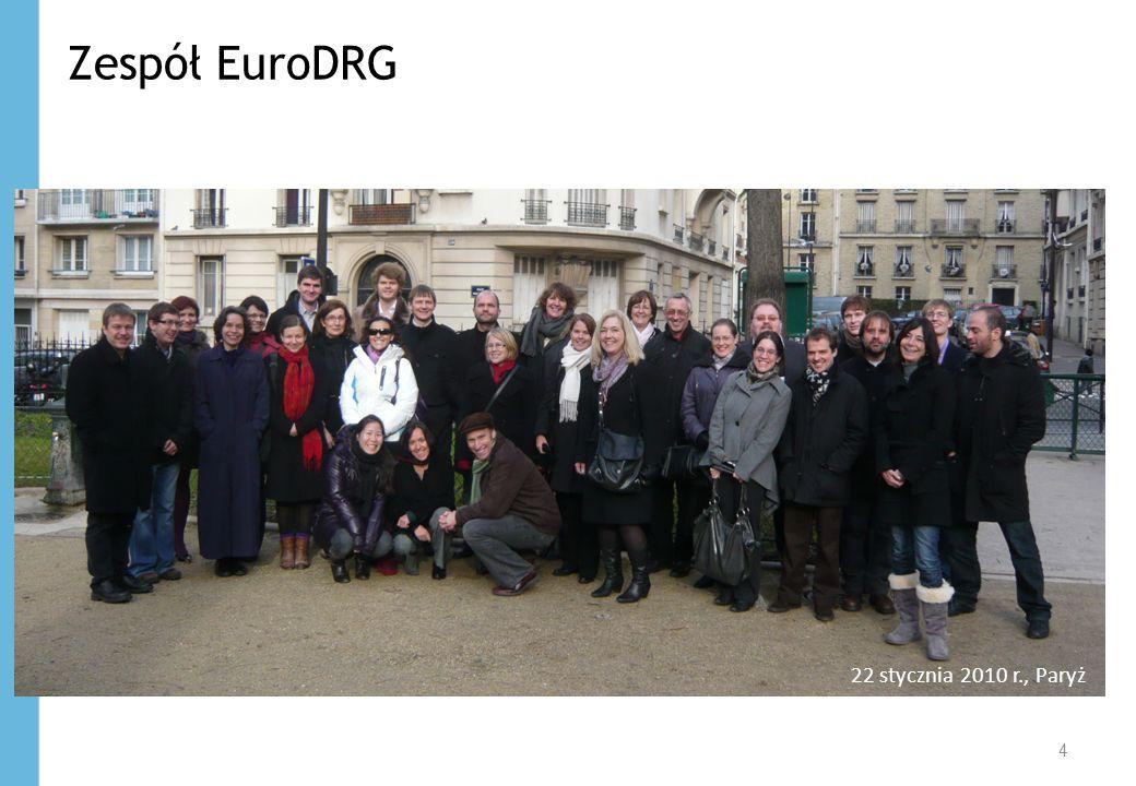 Zespół EuroDRG 4 22 stycznia 2010 r., Paryż