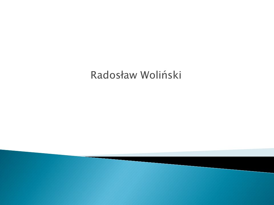 Radosław Woliński
