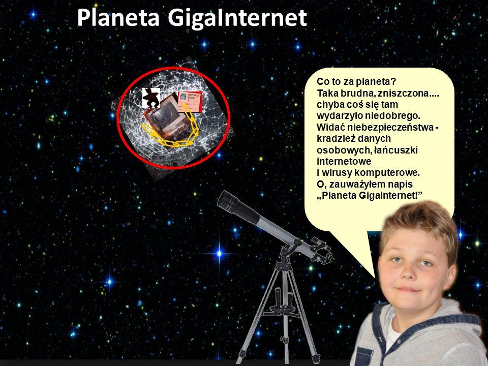 Planeta GigaInternet Co to za planeta.Taka brudna, zniszczona....