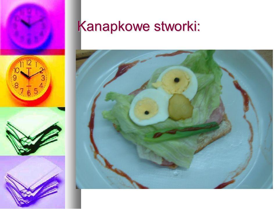 Kanapkowe stworki: