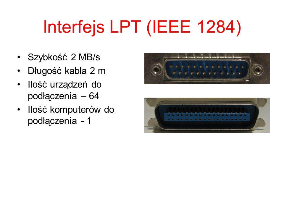 Interfejs USB Szybkość do 480 Mb/s dł.