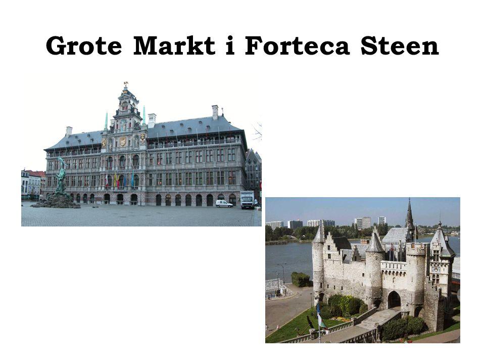 Grote Markt i Forteca Steen