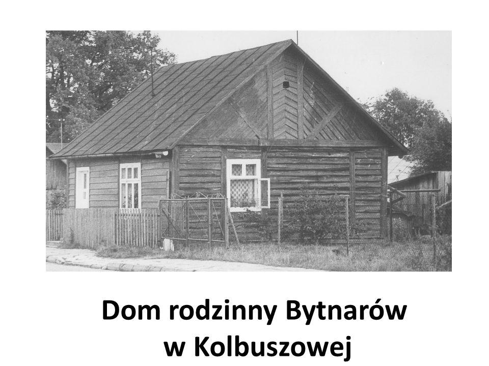 Dom rodzinny Bytnarów w Kolbuszowej