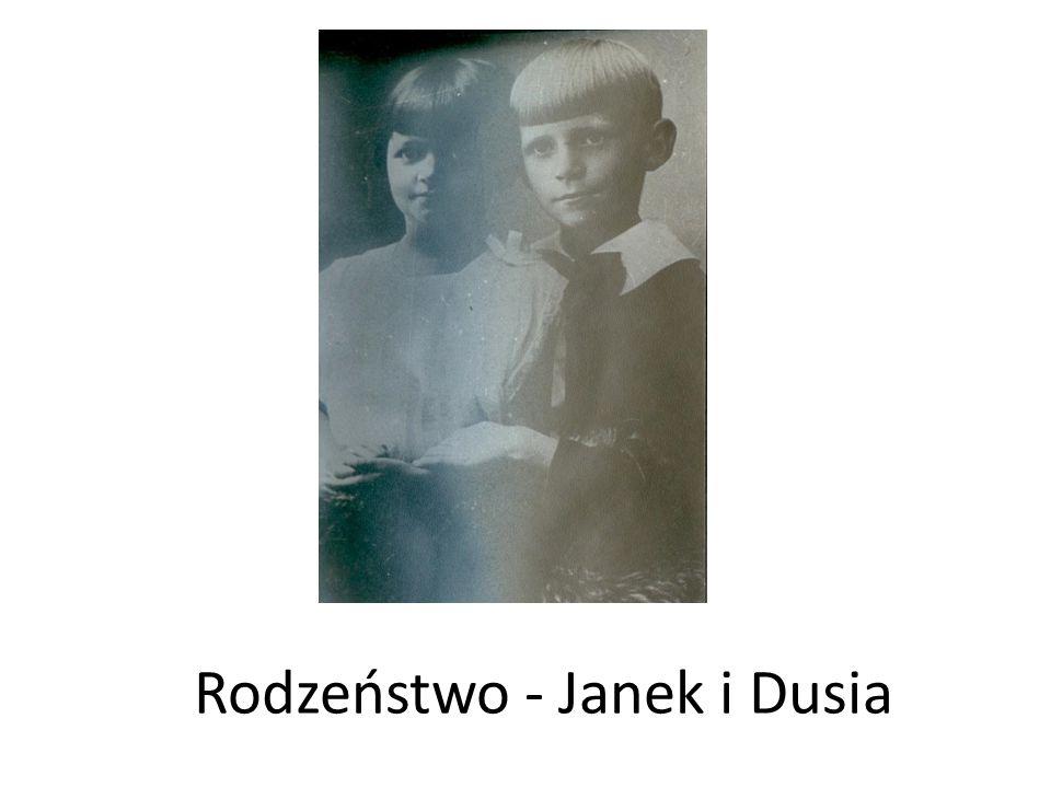 Rodzeństwo - Janek i Dusia