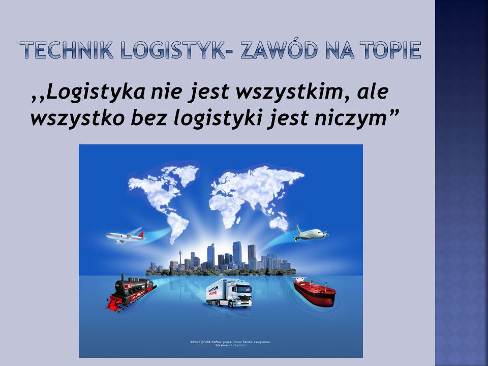 """,,Logistyka nie jest wszystkim, ale wszystko bez logistyki jest niczym"""""""