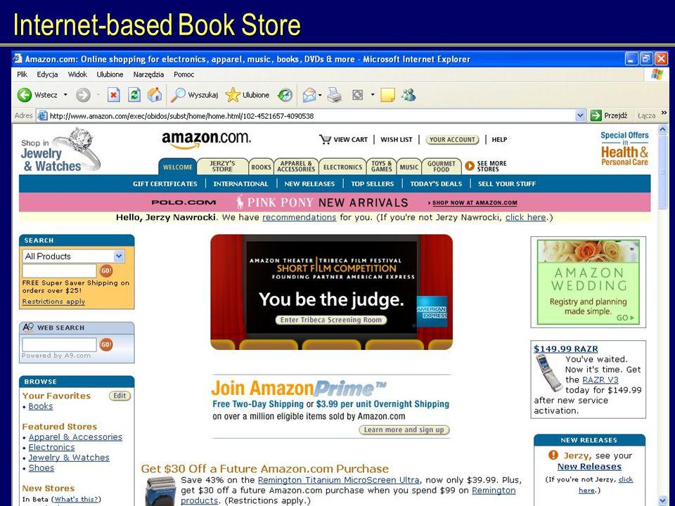 J.Nawrocki, Acceptance Testing Internet-based Book Store