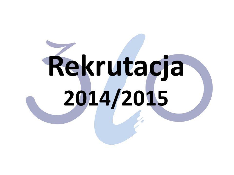 Rekrutacja 2014/2015