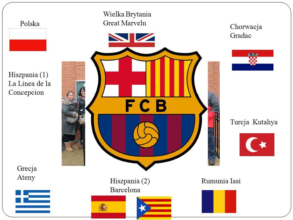 Polska Hiszpania (1) La Linea de la Concepcion Grecja Ateny Hiszpania (2) Barcelona Rumunia Iasi Turcja Kutahya Chorwacja Gradac Wielka Brytania Great