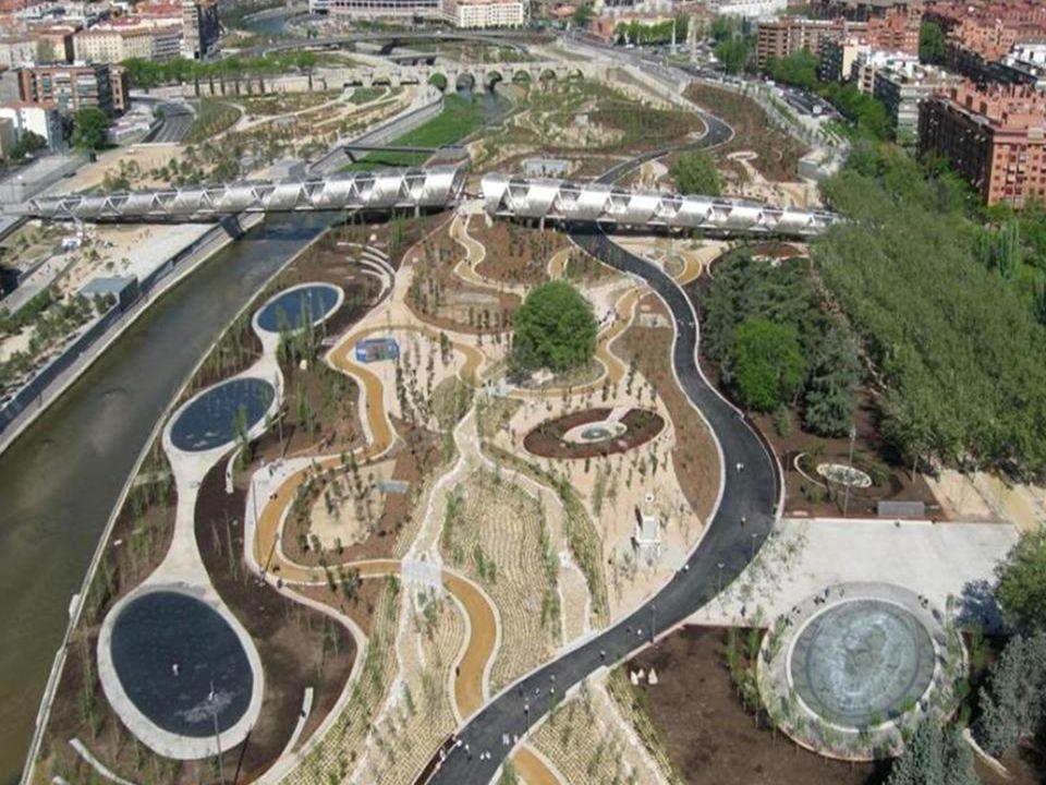 Most Arganzuela w Madrycie, Hiszpania