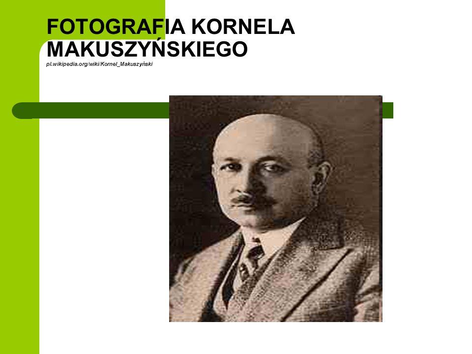BIOGRAFIA KORNELA MAKUSZYŃSKIEGO Pisarz, publicysta, krytyk teatralny, jeden z najpopularniejszych pisarzy dla dzieci.