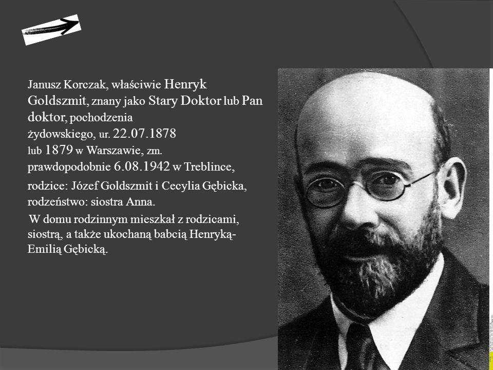 """Ostatnią drogę Korczaka i dzieci Nechum Remba relacjonuje: """"Wszystkie dzieci ustawiono w czwórki, na czele Korczak, z oczami zwróconymi ku górze trzymał dwoje dzieci za rączki, prowadził pochód."""