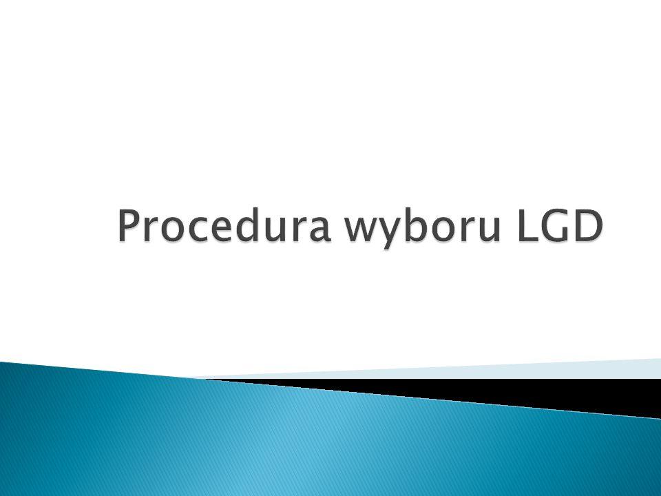1) Konferencja UM 2) Ogłoszenie UM 3) Nabór(składanie wniosków) LGD 4) RozpatrywanieUM 5) Wybór LGD UM 6) Zastrzeżenia do wyboruLGD 7) Podpisanie umowy LGD+UM 8) Realizacja LSRLGD