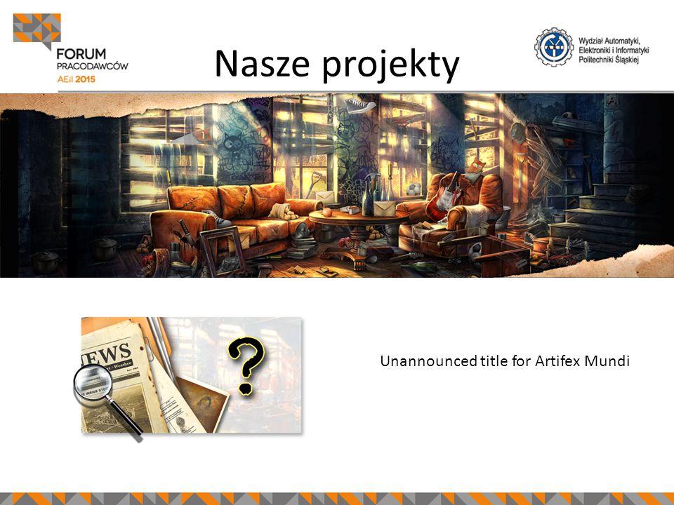 Unannounced title for Artifex Mundi Nasze projekty