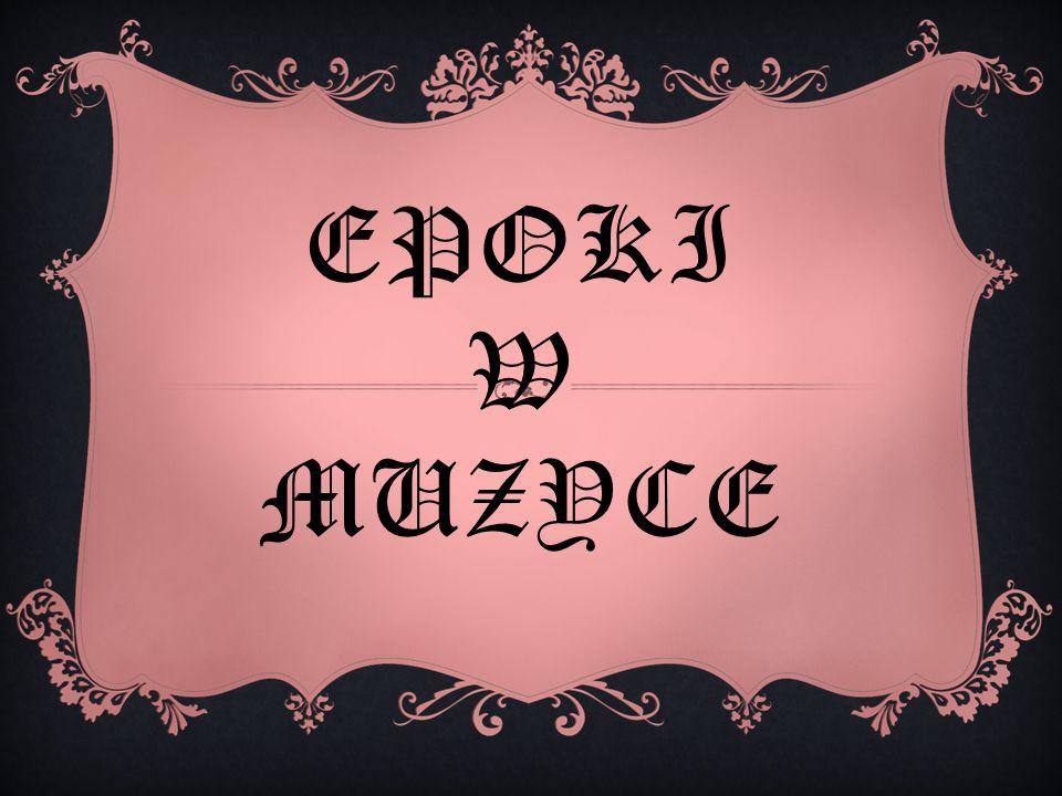 MUZYKA POLSKA W ŚREDNIOWIECZU Wraz z przyjęciem chrześcijaństwa w Polsce powstały zakony.