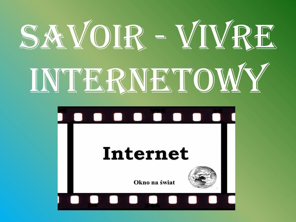 Savoir - vivre internetowy