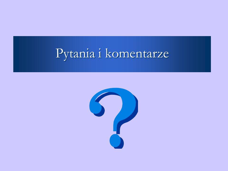 Pytania i komentarze