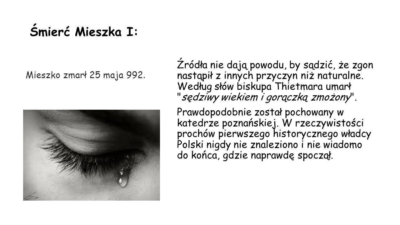 Ciekawostki o Mieszku I: W PRL portret Mieszka I umieszczono na przedniej stronie banknotu o nominale 2000 złotych.