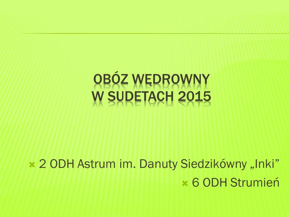 """ 2 ODH Astrum im. Danuty Siedzikówny """"Inki  6 ODH Strumień"""