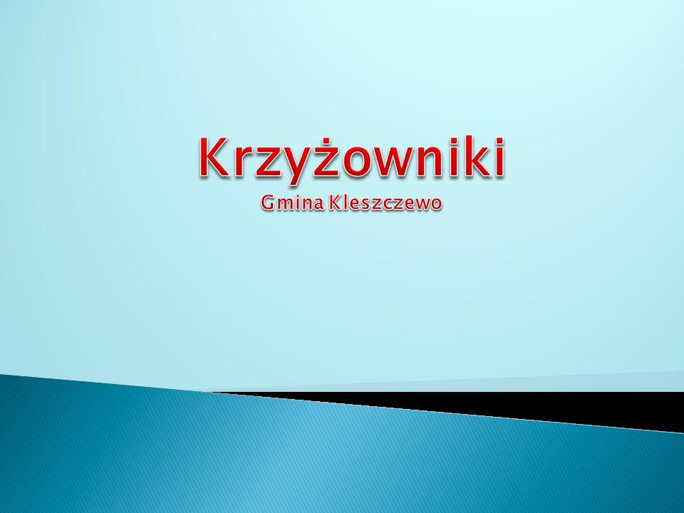 Miejscowość Krzyżowniki jest jednym z 12 sołectw w Gminie Kleszczewo.