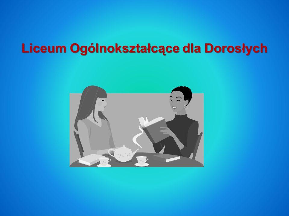 Program nauczania ma na celu przekazanie wiedzy ogólnej na poziomie podstawowym z zakresu języka polskiego, matematyki, języka angielskiego, historii, chemii, fizyki, biologii, informatyki, podstaw przedsiębiorczości oraz na poziomie rozszerzonym z geografii i wiedzy o społeczeństwie.